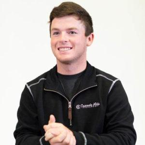 Men's Conway Flatback Rib Pullover - Black