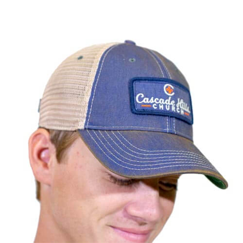 Old Favorite Trucker Hat - Blue