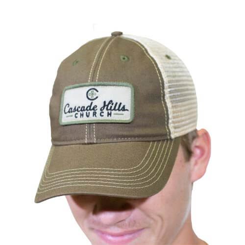 Old Favorite Trucker Hat - Olive