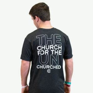 The Church For The Unchurched - Vintage Black - Back