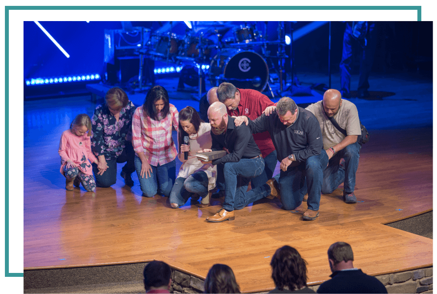 Prayer Partners On Stage