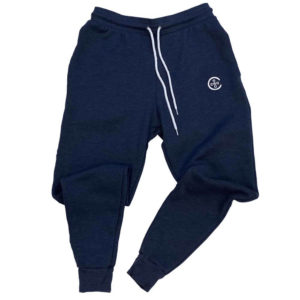 Jogger Sweatpants - Heather Navy
